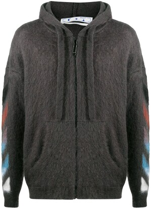 Off-White Diag zip-up hoodie