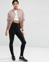 Asos Skinny Pants with PU Piping