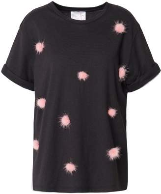 In.No Billie Pink Pom Pom T-Shirt