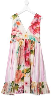 Pero Kids Floral-Print Dress