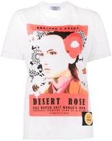 Prada poster girl print T-shirt