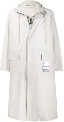 Maison Mihara Yasuhiro Combined Single Breasted Coat