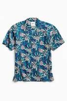 Katin Pine Cone Shot Sleeve Button-Down Shirt