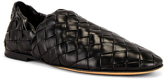 Bottega Veneta Slippers in Nero | FWRD