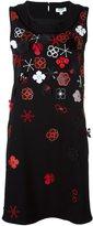 Kenzo 'Tanami' shift dress - women - Polyester/Triacetate - 34