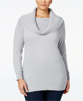 MICHAEL Michael Kors Size Convertible Cowl-Neck Sweater