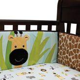 Lambs & Ivy Peek-a-Boo Jungle Crib Bumper