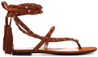 Valentino Rockstud Strapped Sandals