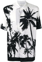 Golden Goose Deluxe Brand palm print shirt - men - Viscose - S
