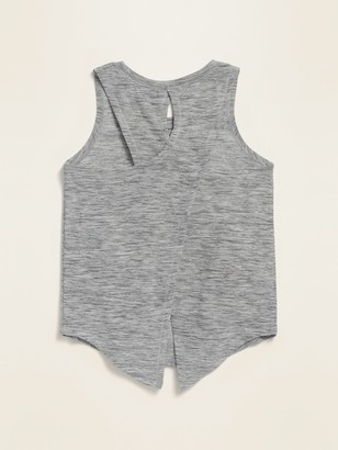 Old Navy Breathe ON Sleeveless Split-Back Top for Toddler Girls