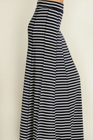 Umgee USA Navy Striped Skirt