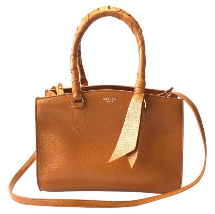 Rochas Brown Leather Handbag