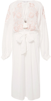 Alice McCall Gypsy Queen Embroidered Cotton Dress