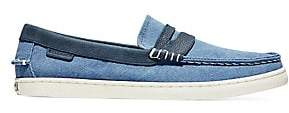 Cole Haan Men's Pinch Canvas & Leather Weekender Loafers