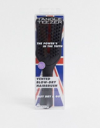 Tangle Teezer Easy Dry & Go Vented Hairbrush in Jet Black