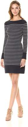 French Connection Women's Tim Stripe Long Sleeve Dress