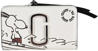 Marc Jacobs X Peanuts Snoopy Print Compact Wallet
