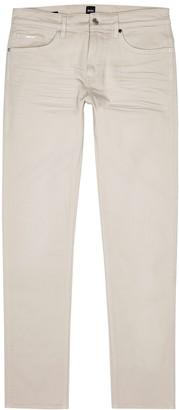 BOSS Delaware stone slim-leg jeans