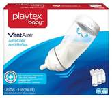 Playtex Baby VentAire Complete Tummy Comfort 9oz 3 Pack Baby Bottle