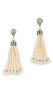Ben-Amun Imitation Pearl Tassel Earrings