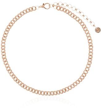Shay 18kt Rose Gold Mini Diamond Choker