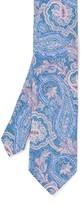 J.Mclaughlin Italian Silk & Cotton Tie in Fleur