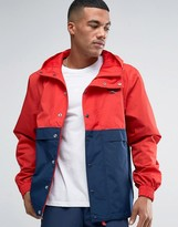 Reebok Vector Jacket In Red Bk5102