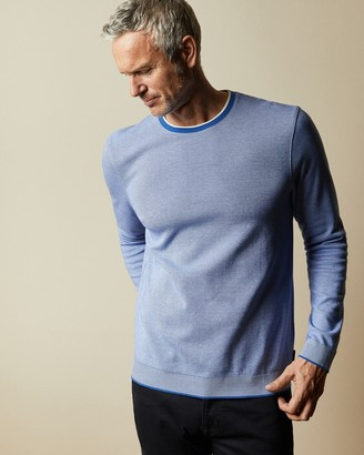 Ted Baker Tall Cotton Long Sleeved Jumper