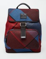 Vivienne Westwood Tartan Backpack - Blue