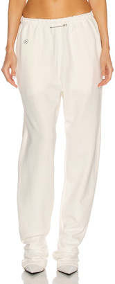 SAMI MIRO VINTAGE Sweatpant in White & Black | FWRD