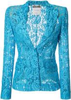 Moschino lace blazer