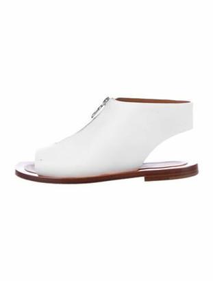 Celine 2018 Calfskin Slides White