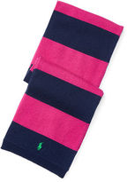 Ralph Lauren Striped Wool Scarf