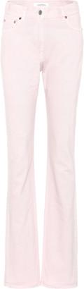 Valentino High-waisted slim-straight jeans