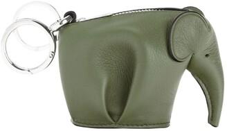 Loewe Leather Elephant Charm