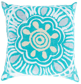 Surya Floral Pillow