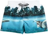 Molo Beach Print Nylon Swim Shorts