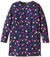 Pumpkin Patch Girl's Print Sweatshirt Dress