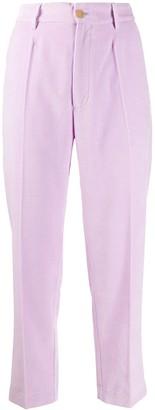 Forte Forte Tapered Velvet Trousers