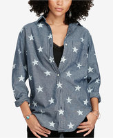 Denim & Supply Ralph Lauren Chambray Boyfriend Shirt