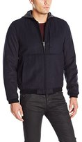 Levi's Men's Fashion Modern Varsity Bomber Jacket with Attached Hood