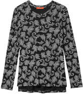 Joe Fresh Women's Print Tee, Black (Size XS)