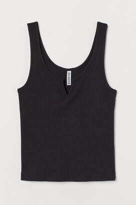 H&M Ribbed vest top