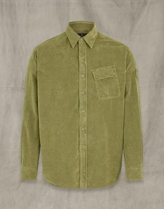 Belstaff PITCH CORDUROY SHIRT Green 3XL