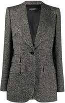 Dolce & Gabbana woven fitted blazer