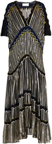 Peter Pilotto Cut-out sleeve chiffon gown