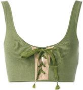 Fenty X Puma lacing bra