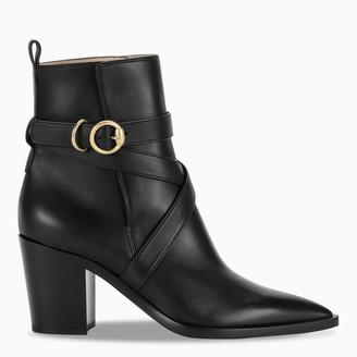 Gianvito Rossi Black Huston boots