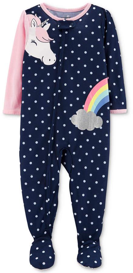 Carter's Carter Toddler Girls Unicorn Pajamas