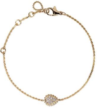 Boucheron 18kt yellow gold Serpent Boheme diamond XS motif bracelet